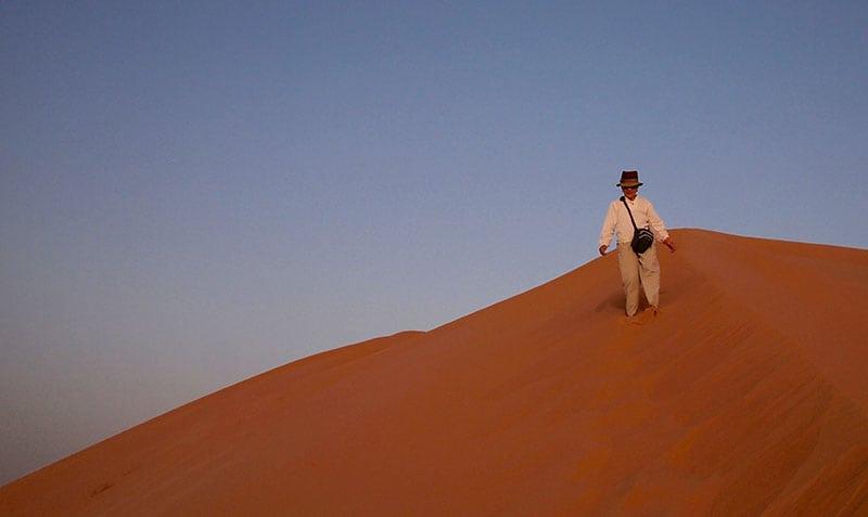The Oman Empty Quarter - Rub' Al Khalif - Top of the Dune