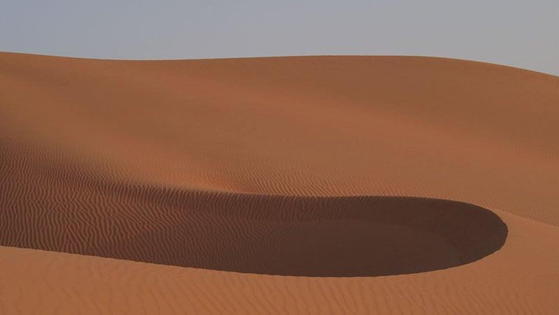 The Oman Empty Quarter - Rub' Al Khalif - wind pocket
