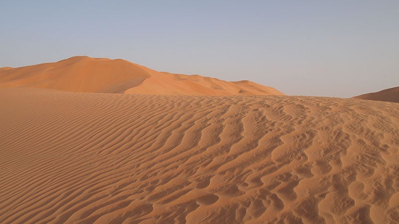 The Oman Empty Quarter - Rub' Al Khalif - Sand Waves