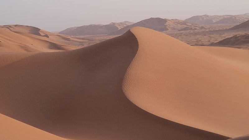 The Oman Empty Quarter - Rub' Al Khalif - drama