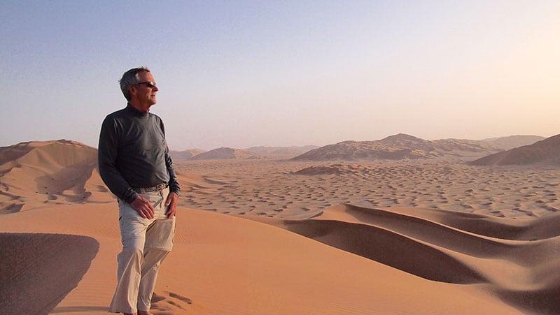 The Oman Empty Quarter - Rub' Al Khalif - 20 metre Dune