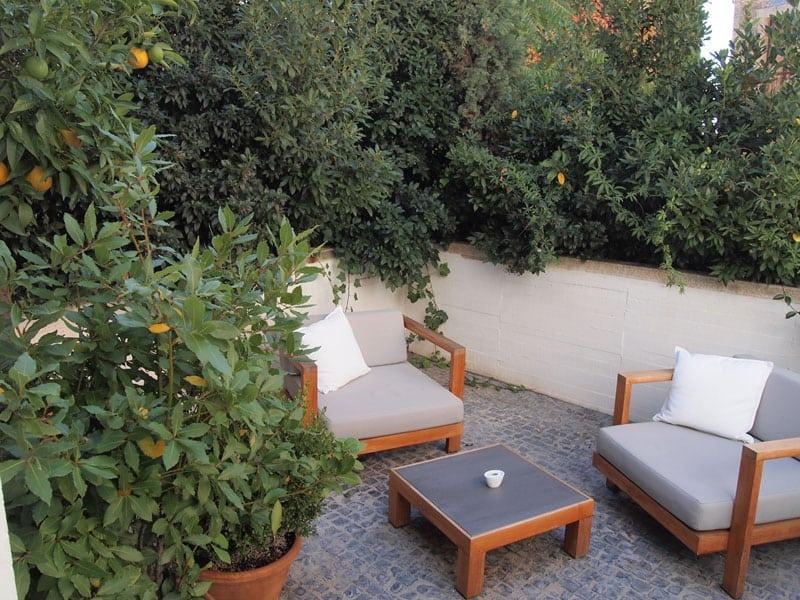 Caceres Atrio Private Balcony