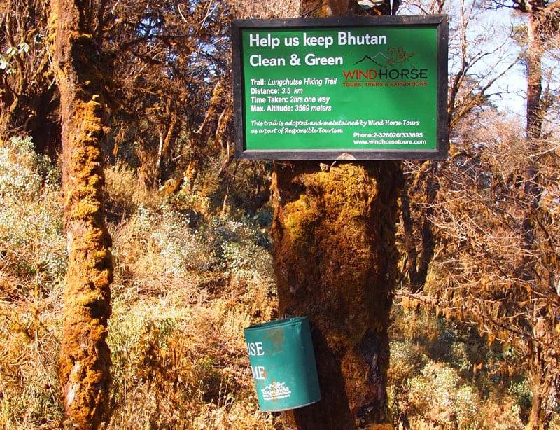 Lungchu Tsey Hike –Wind Horse Trail Maintenace