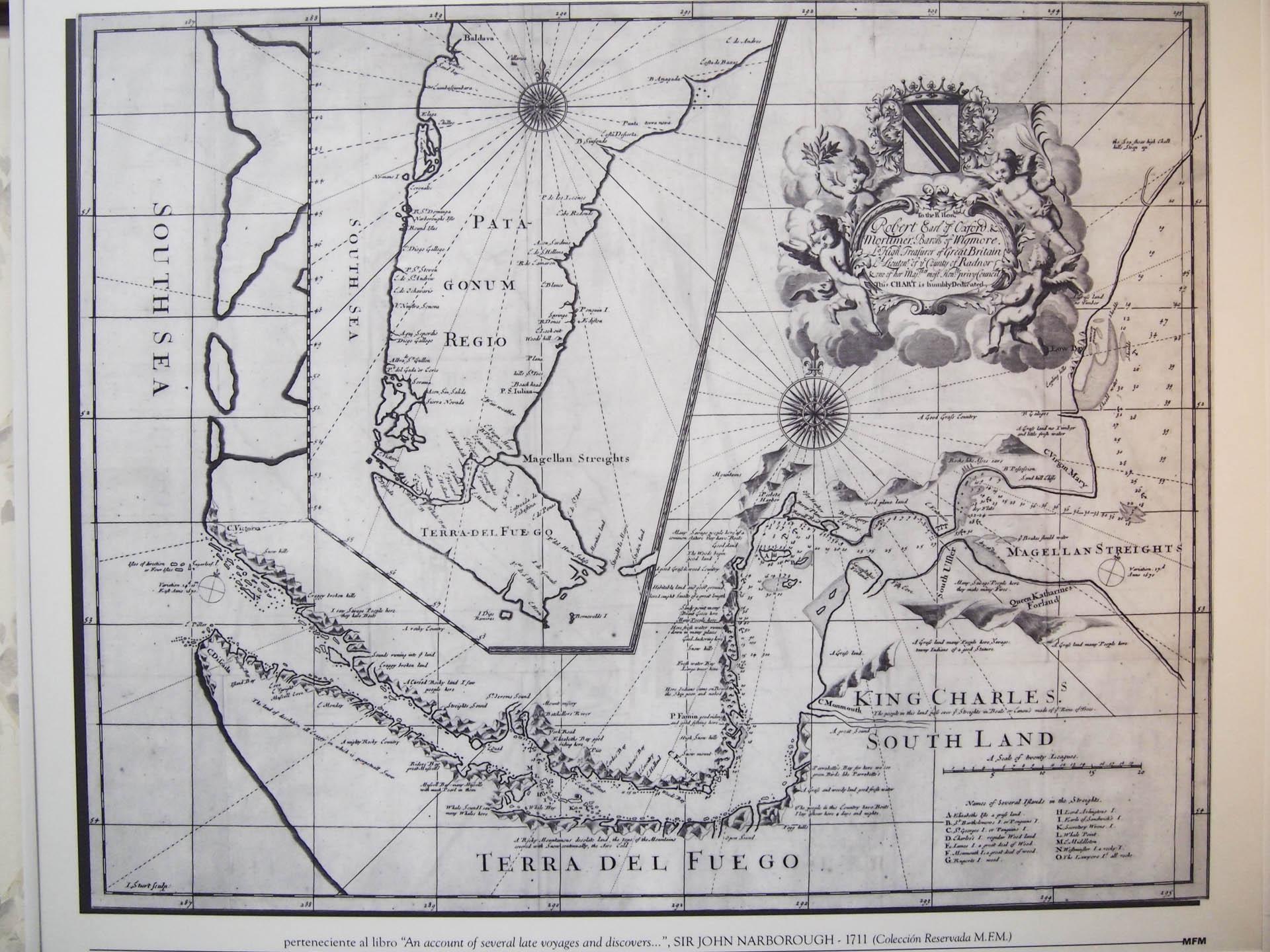 Patagonia Ancient Map