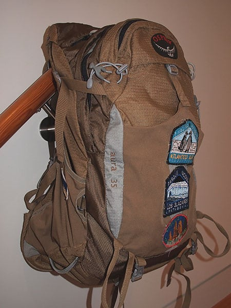 The Osprey backpack