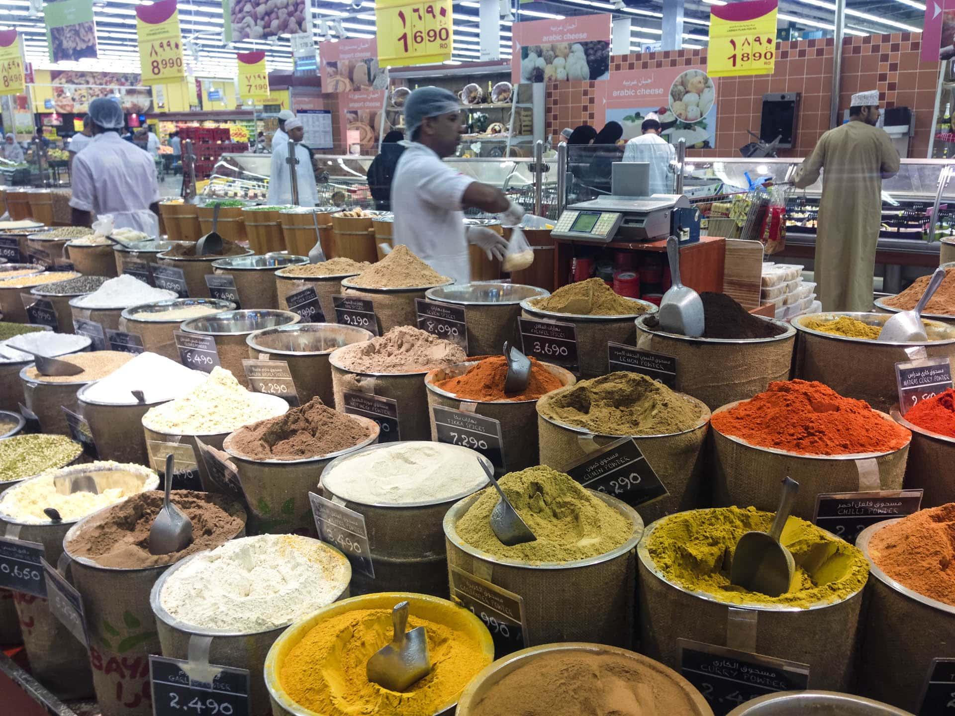 Afbeeldingsresultaat voor spice market muscat