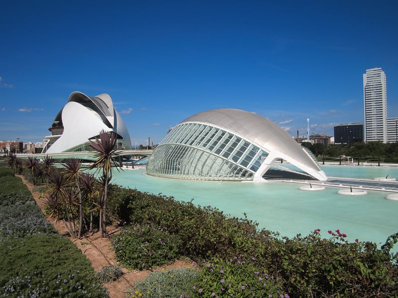 Calatrava's City of Arts and Sciences