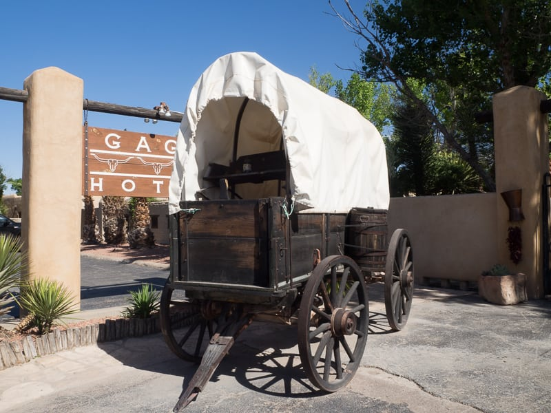 The legendary Gage Hotel in Marathon, Texas