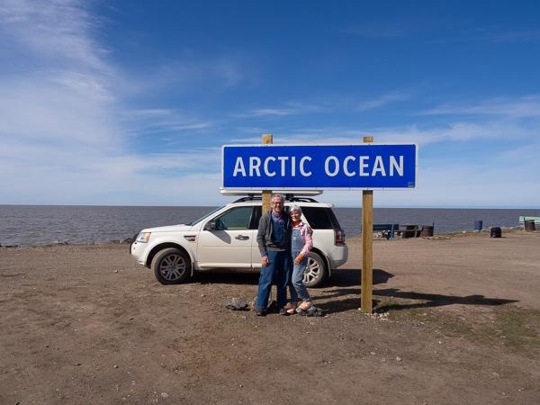 Arctic Ocean at Tuktoyaktuk