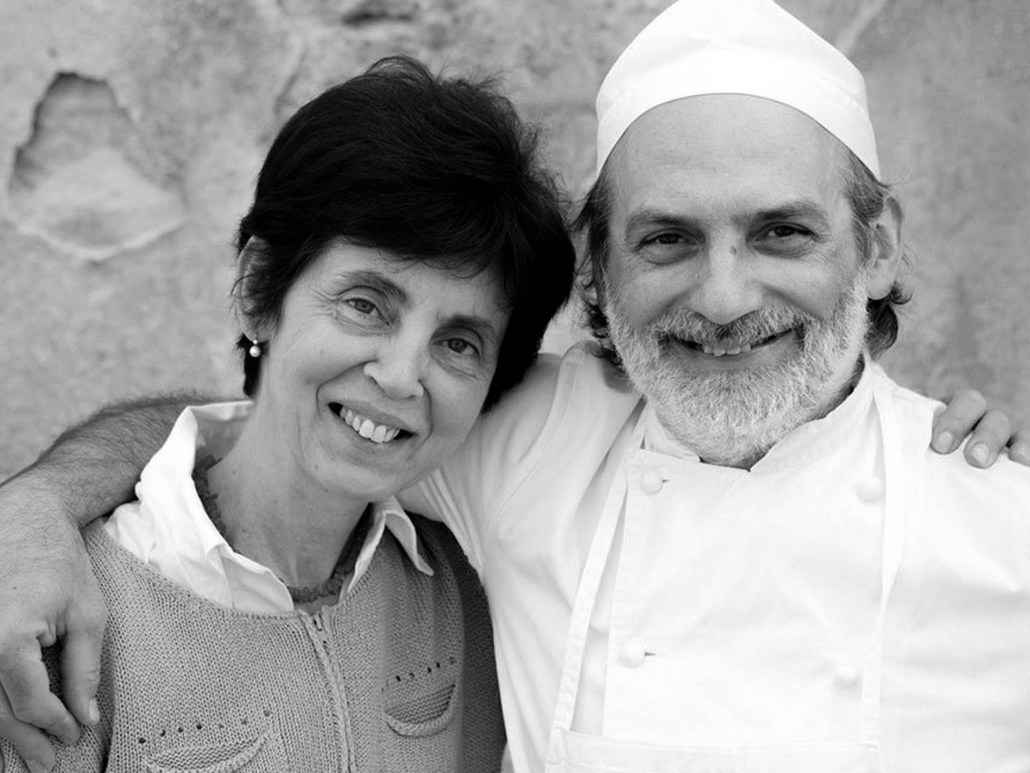 Corrado Assenza, owner and pastry king of Caffè Sicilia, and his wife Nives (Photo: Johanna Ekmark)