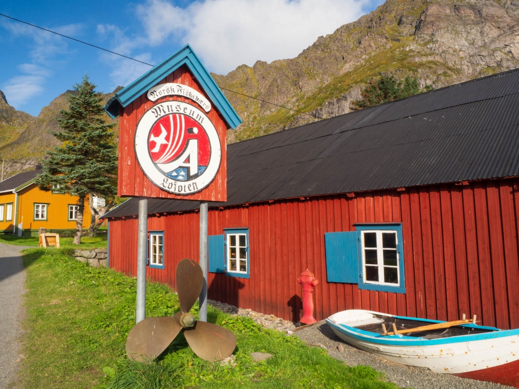"""Å (pronounced """"oh"""") has an excellent fishing museum"""