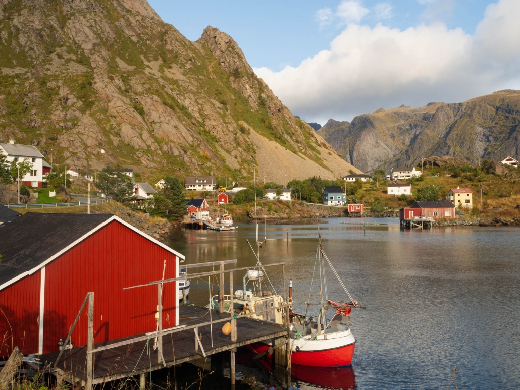 The tiny village of Sund, home to a great blacksmith